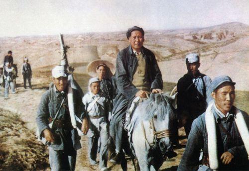 CHINA - 50 - MAO ZEDONG - HORSE