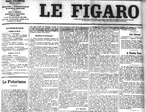Marinetti_Figaro