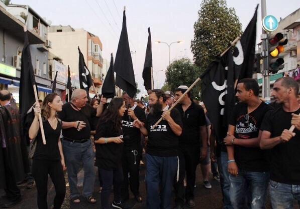 Israeli-anti-african-protest