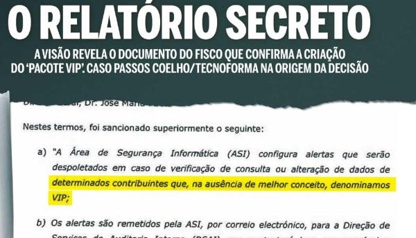relatório secreto