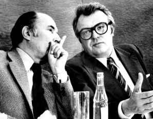 Francois Mitterrand e Pierre Mauroy